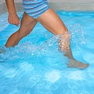 Legs Splaying in a Swimming Pool