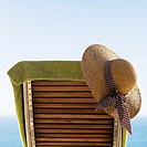 Deck Chair at Beach (thumbnail)