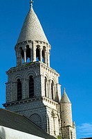 europe, france, poitiers, notre dame la grande romanesque church