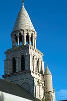 europe, france, poitiers, notre dame la grande romanesque church