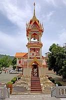 Wat, ChalongTemple, Phuket, Thailand, Wat, Chalong, Tempel, Phuket, Thailand,