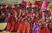 Woman, dancer, Shilpgram, Rajasthan, India,