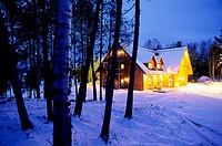 Domaine du Lac Toro. Saint-Michel-des-Saints area. Quebec Province. Canada.