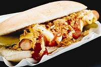 A hot dog (thumbnail)