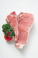 Veal cutlet with fillet and bone
