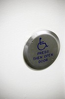 Wheelchair access button