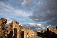 Pompeii. Campania, Italy