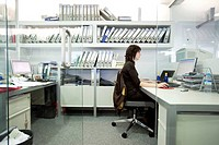 Office, biopharmaceutical lab, Grupo Genetrix, Madrid