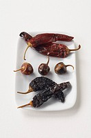 Assorted dried chiles