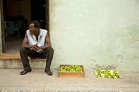 Lemon seller. Sancti Spiritus. Cuba