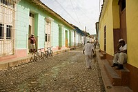 Street, Trinidad. Sancti Sp&#237;ritus province, Cuba