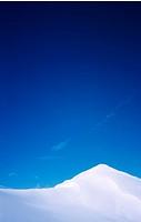 Snow, blue sky and silence