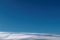 Germany, Bavaria, snowy hill