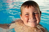 Boy in Swimming Pool (thumbnail)