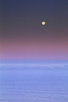 Evening ocean sky