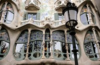 Batlló House. Barcelona. Catalonia, Spain