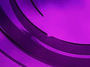 Circular pattern on a purple background
