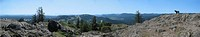 View from Mt Finlayson, near Victoria, BC Canada