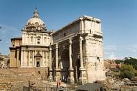 Rome. Italy.  Roman Forum
