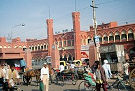 railway station , delhi , india