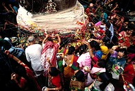 celebration of vat pournima festival , india