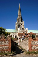 Cathedral (12th-13th century), Chichester. England, UK