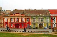 Piata Unirii, Old Town Square, Timisoara, Romania