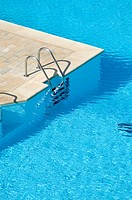Pool access ladder