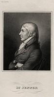 A4 Jenner, Edward, 17 5 1759 - 26 1 1823, brit Mediziner / Arzt, Brustbild, Stahlstich, Meyers Konversationslexikon, 19 Jahrhundert, hist , Großbritan...