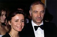 Mueller-Stahl, Armin, * 17 12 1930, deut Schauspieler, Portrait, mit seiner Ehefrau Gabi, Filmball, München, 1985, Frau, Paar, Ehepaar, Mueller - Stah...