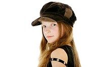 Girl looking cool (thumbnail)