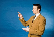 Businessman pointing at something (thumbnail)