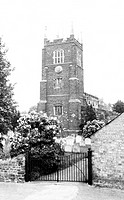 Blunham, the Church of St Edmund and St James c1965