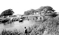 Christchurch, the River Stour c1960