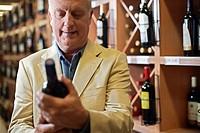 Man Selecting Wine