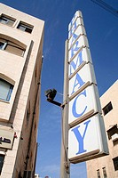 Pharmacy sign in science park in Amman, Zahran Rd., Umm Uthaynah Al-Sharqi, Amman, Jordan
