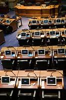 Kentucky State Capitol / Interior of the State Senate Chambers. Frankfort. Kentucky. USA.