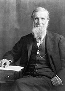 John Muir 1838-1914, American naturalist, traveller, writer and geologist  Muir was born in Scotland and emigrated to the USA with his family in 1849 ...