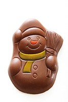 Chocolate snowman