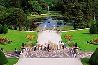 Tourism, Powerscourt Gardens, Co Wicklow,
