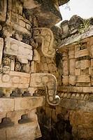 Mayan ruins. Labná. Puuc Road. Yucatan. Mexico