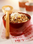 Muesli with coconut