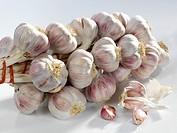 A garlic plait