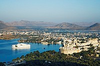 View over Udaipur