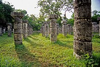 Mayan ruins. Chichen Itza. Mexico.
