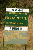Poaching Warning in Zimbabwe