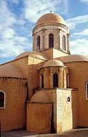 Monastery of Agia Triada  Hania, Crete, Greece