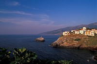 View of Evdilos Ikaria, Northeastern Aegean Island, Greece
