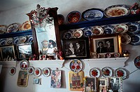 Karpathos, Olymbos: True to Tradition Olymbos, local house, portraits