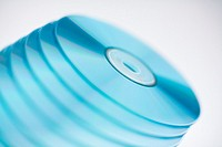 Stack of CD´s, close-up